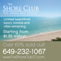 The Shore Club on Long Bay Beach