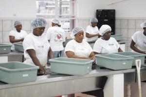 Caicos Pride seafood plant in South Caicos.