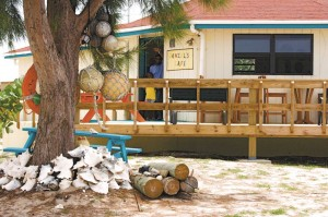 Daniel's Cafe in Conch Bar, Middle Caicos