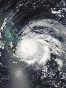 Hurricane Ike engulfs the Turks & Caicos Islands