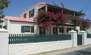 Duke Street, Grand Turk home only appears to be a restoration