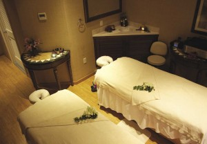 Treatment rooms at The Spa at Seven Stars