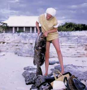 Fishing in 1970s Providenciales