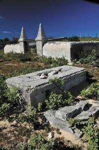 Salt Cay's public cemetery