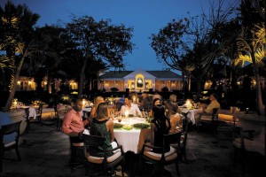 Evening dining at Parallel23 on Providenciales