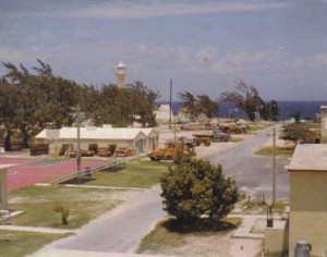 Grand Turk NavFac facility in 1976
