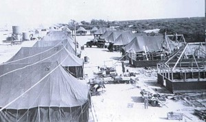 Temporary barracks 1952