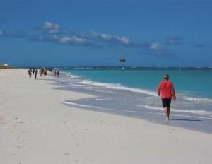 TCI visitors are drawn to pristine Grace Bay Beach