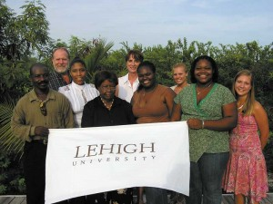 Lehigh University tourism study survey team