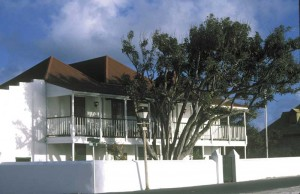 Current museum home at Guinep House on Grand Turk