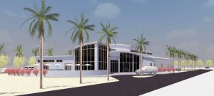 JAL Consultants' rendition of proposed museum for Providenciales