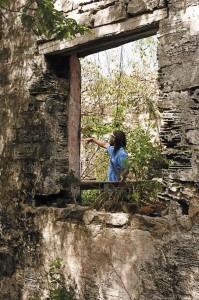 Wade's Green Plantation in North Caicos