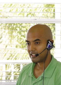 Val Kalliecharan at Turks & Caicos Reservations service