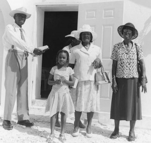 Deacon Alton Higgs of Middle Caicos