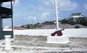Bowen cannon in South Caicos