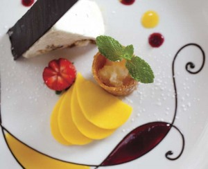 Dessert at O'Soleil