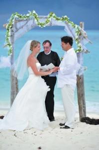 Wedding in Salt Cay