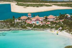 Villa Mani aerial view