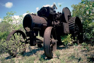 """The """"Iron Giant"""" has stood tall on West Caicos for more than a century."""