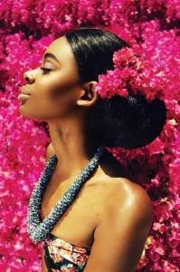 Nikeira Stuart is making her modeling career bloom!