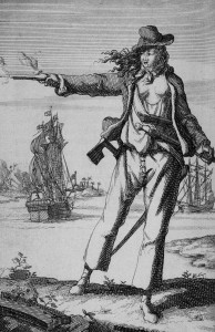 Anne Bonny was a colorful female pirate who likely spent time on Parrot Cay with her lover, Calico Jack Rackham.