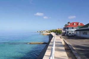 Grand Turk's historic Front Street reflect centuries of island history.