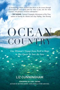 Liz Cunningham's new book Ocean Country was inspired in the TCI>