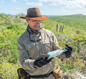 The author investigates an old bottle found at the Goods Hill Settlement on East Caicos.