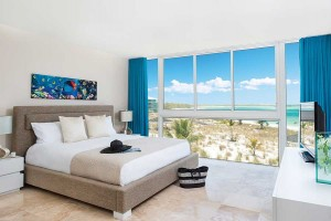 Accommodations at East Bay Resort compare to Grace Bay standards. What a view!