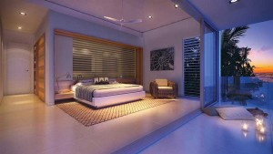 Villa interiors are comfortable and calming.
