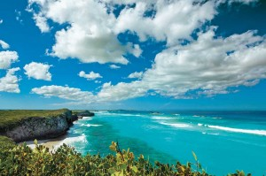This is the spectacular north shoreline of Middle Caicos.