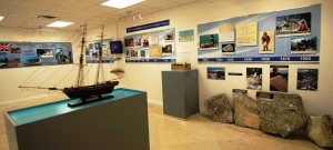 """The Museum's development office on Provo also serves as a """"mini-museum."""""""