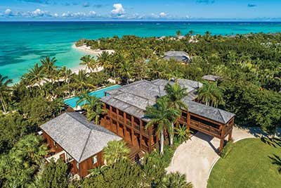Parrot Cay serves as a get-away place to many celebrities, including Donna Karan, Bruce Willis, Keith Richards and other lesser-known but equally successful people.