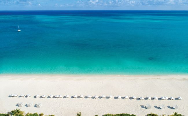 This image by Gary James of Provo Pictures shows the beauty and privacy of Turks & Caicos beaches.
